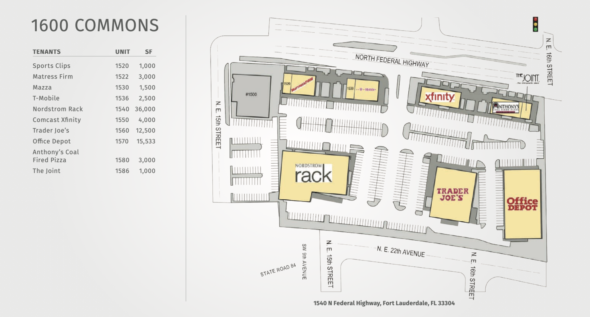 1600 Commons Site Plan