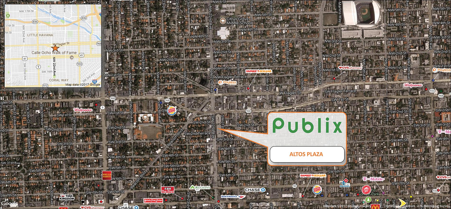 Altos Plaza Trade Map